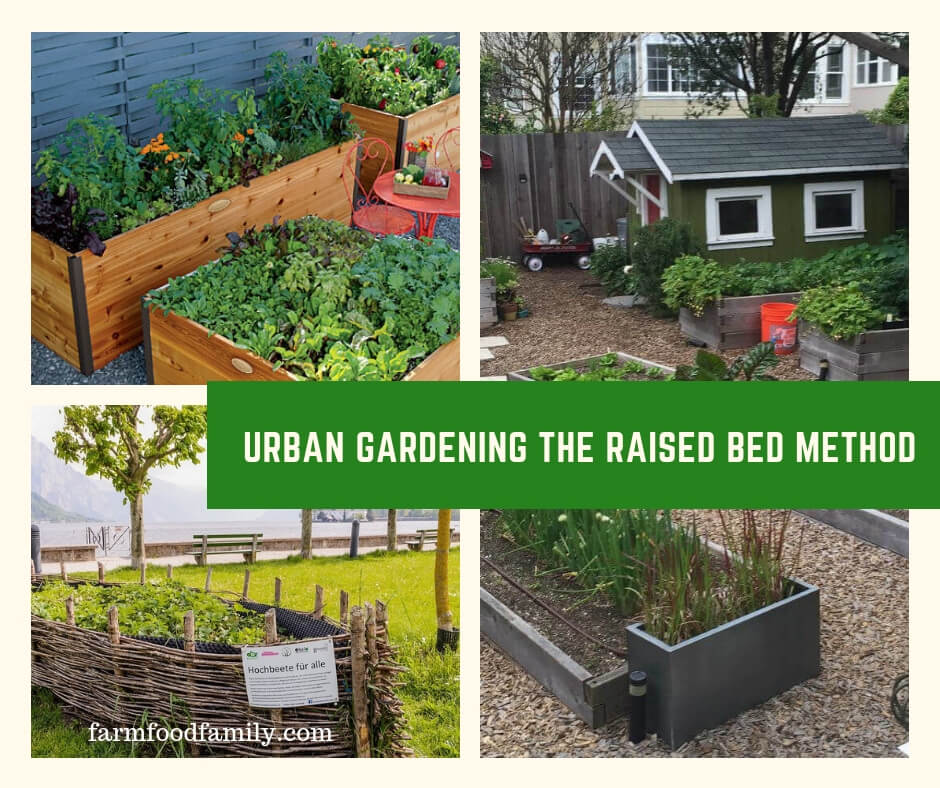 15 Tiny Outdoor Garden Ideas For The Urban Dweller: Urban Gardening: How To Build A Raised Bed (15 Ideas
