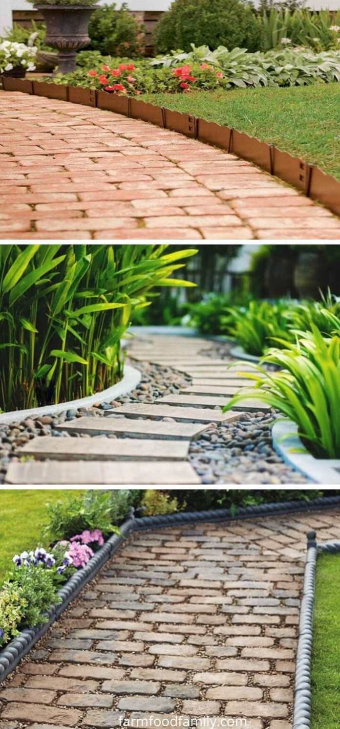 Path garden edging ideas