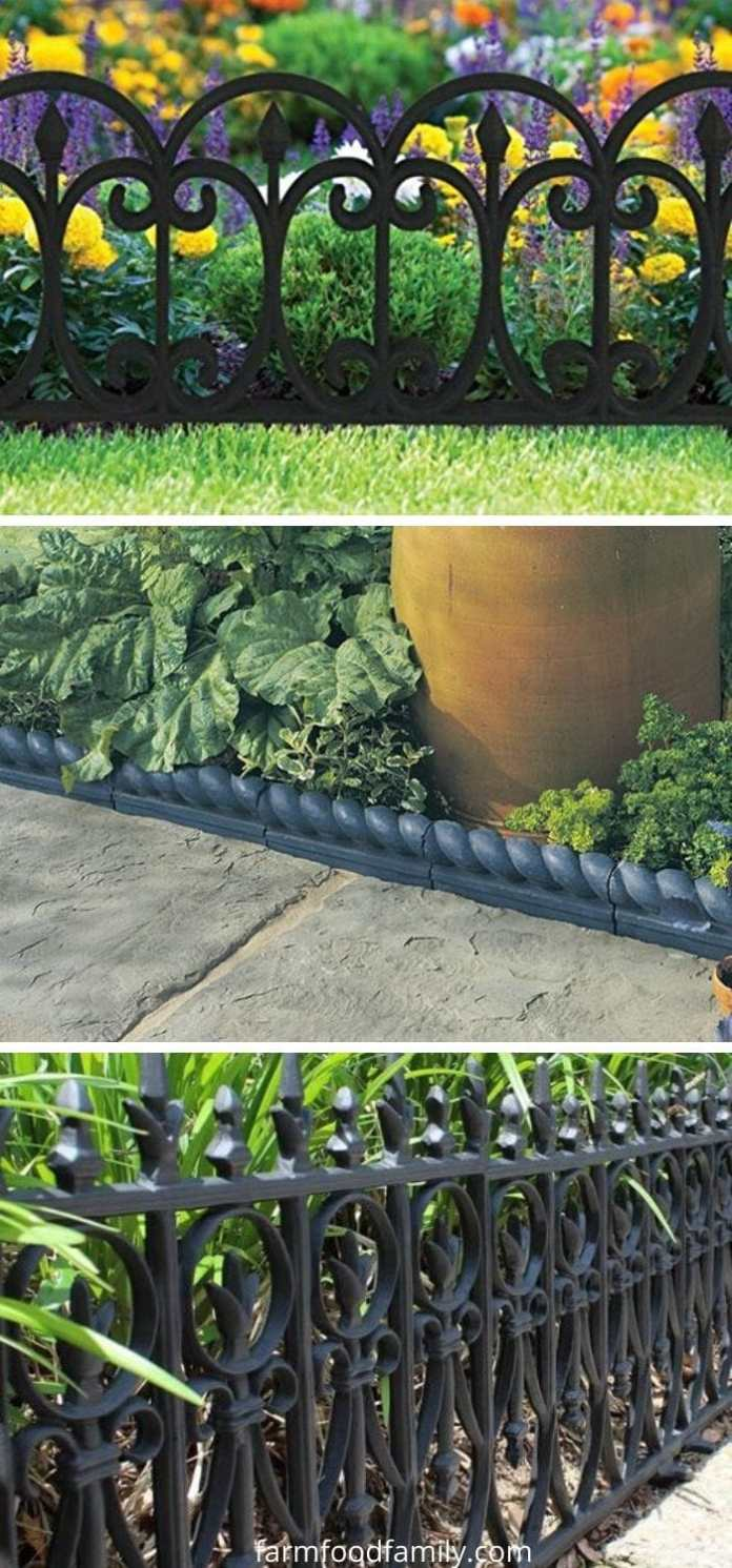 Victorian garden edging ideas
