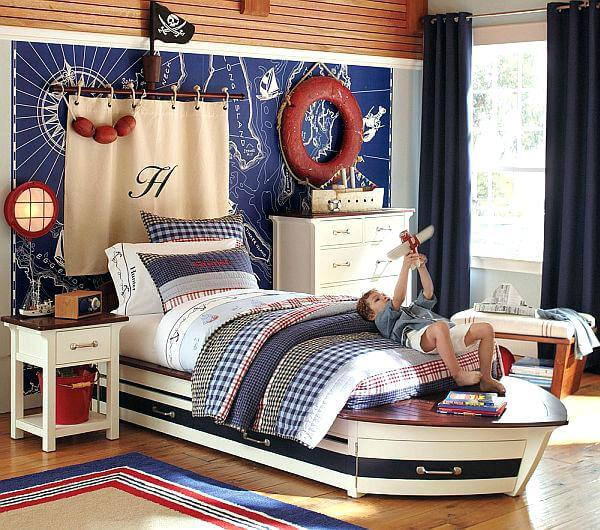 How To Decorate A Nautical Theme Bedroom