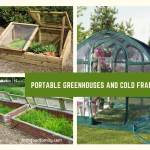 Portable Greenhouses and Cold Frames