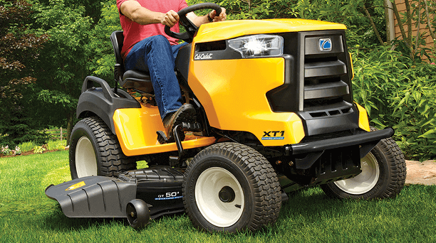 There is a difference between a lawn tractor and a garden tractor.