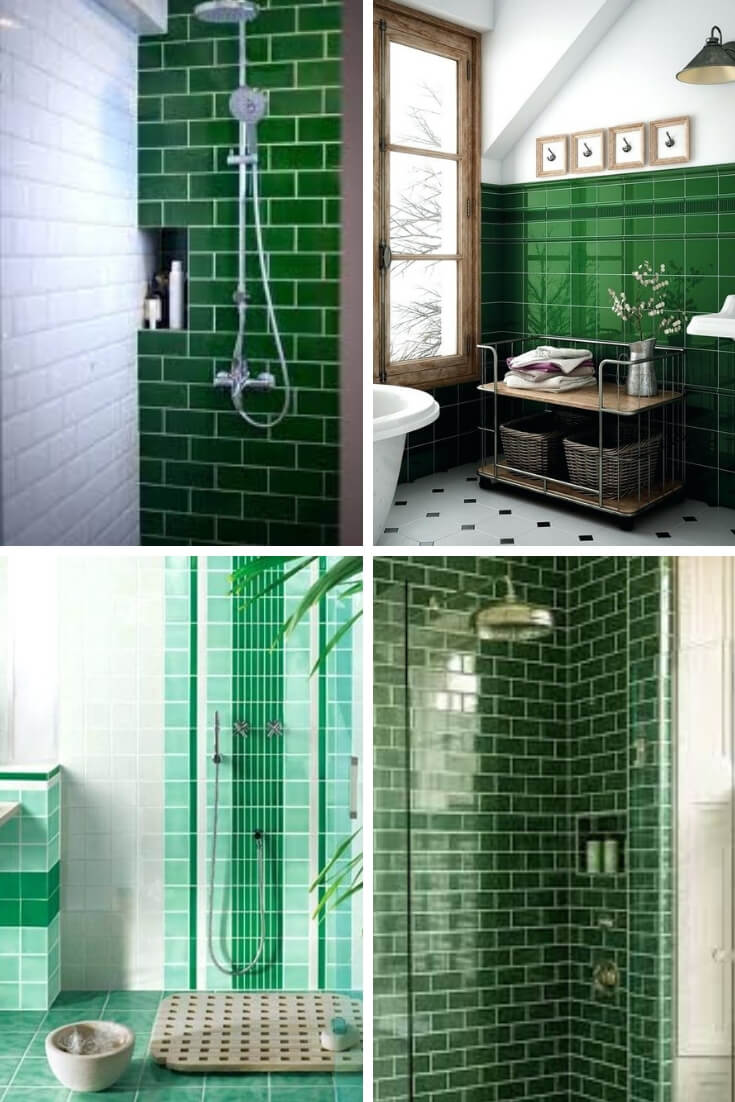 Green Bathroom Tile Ideas 4 | Bathroom Tile Design: Ideas for Incorporating Tile into the Bathroom Design