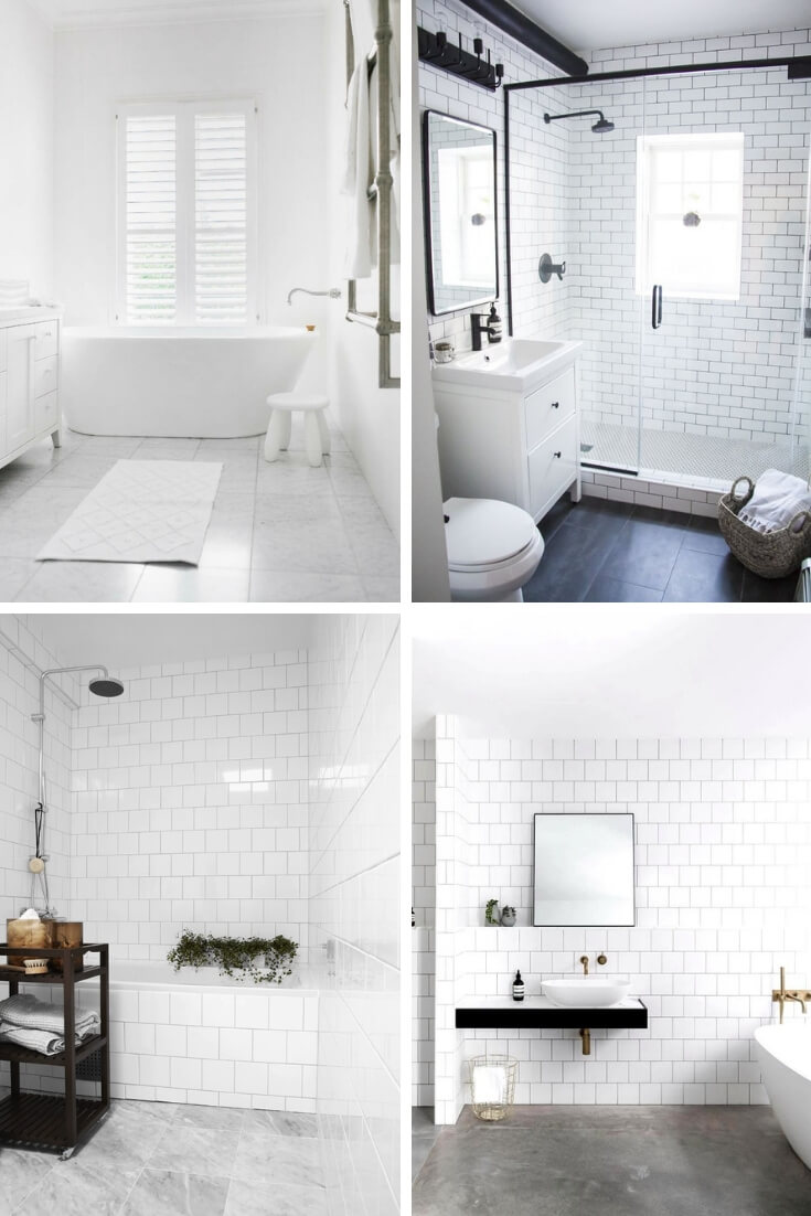 White Bathroom Tile Ideas 4 | Bathroom Tile Design: Ideas for Incorporating Tile into the Bathroom Design