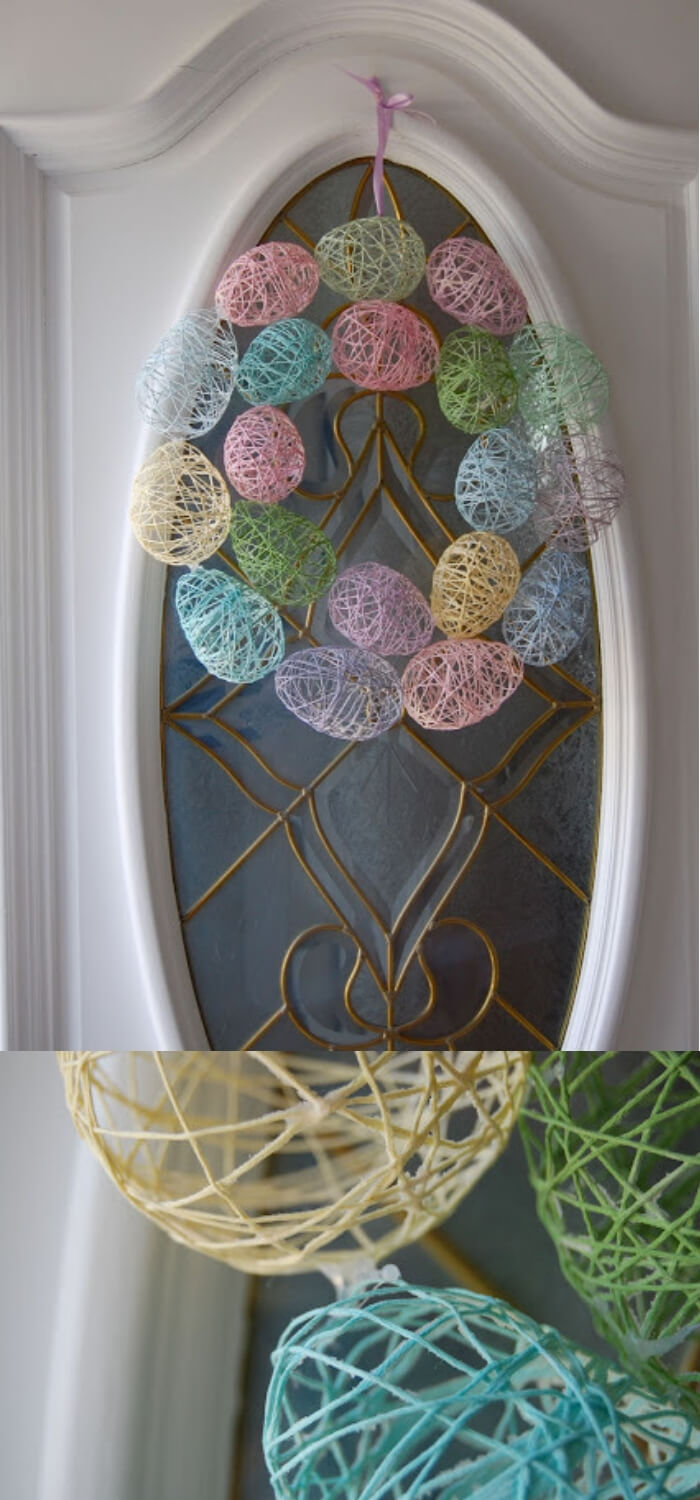 Easter Egg Wreath | Easy & Fun Easter Crafts For Kids