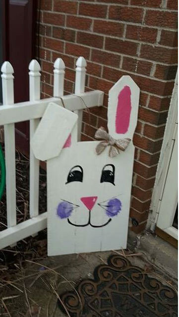 Eater Pallet Sign | Best Easter Porch Decorating Ideas