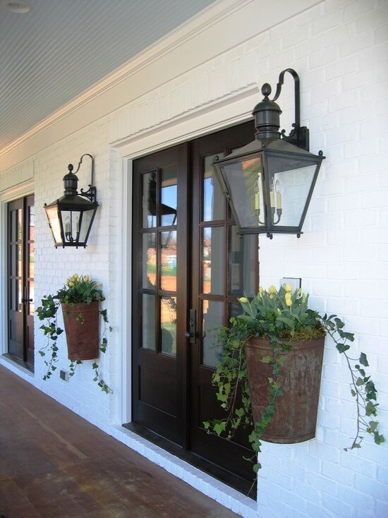 Metal Planters | Best Outdoor Wall Decor Ideas