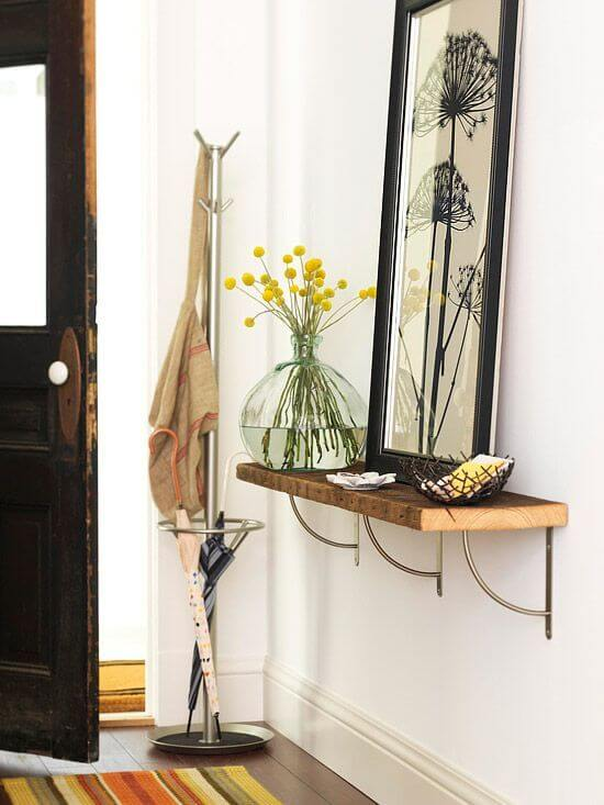 Mirror for small space | Best Entryway Mirror Decor Ideas