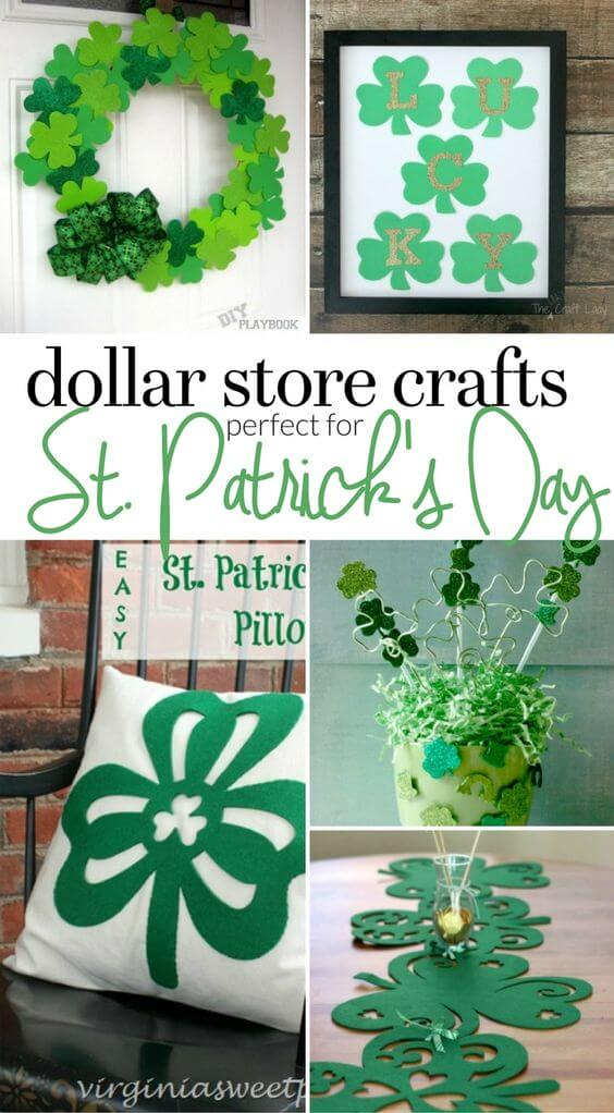 Last Minute St. Patrick's Day Craft | Creative St. Patrick's Day Decor Ideas