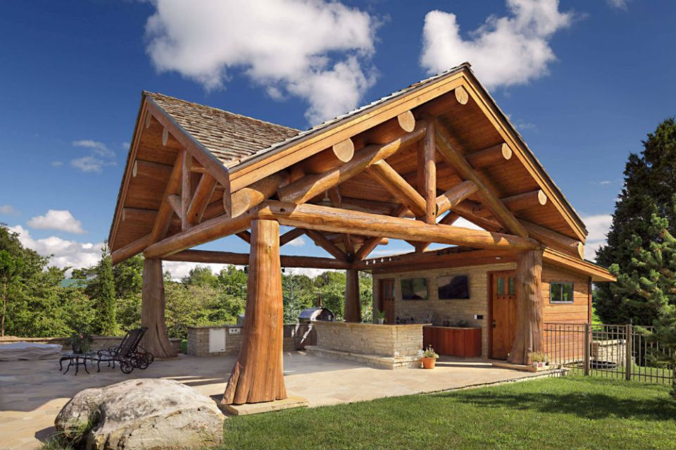 Grand Backyard Pavilion ideas