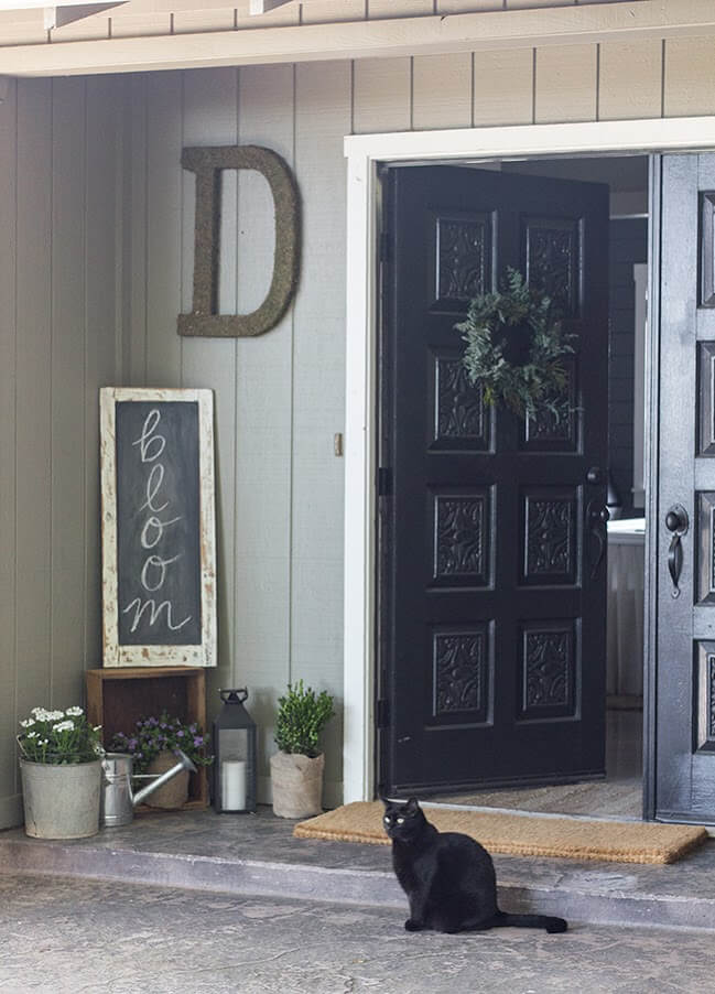 Bloom Sign | Best Spring Porch Sign Decor Ideas & Designs