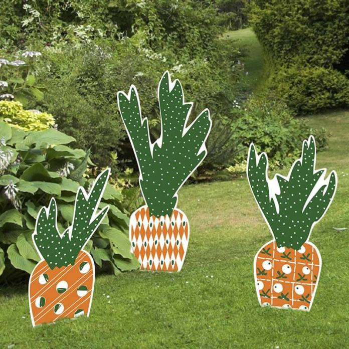 Yard full of Carrots | Creative Easter Garden Projects & Ideas Your Kids Will Love