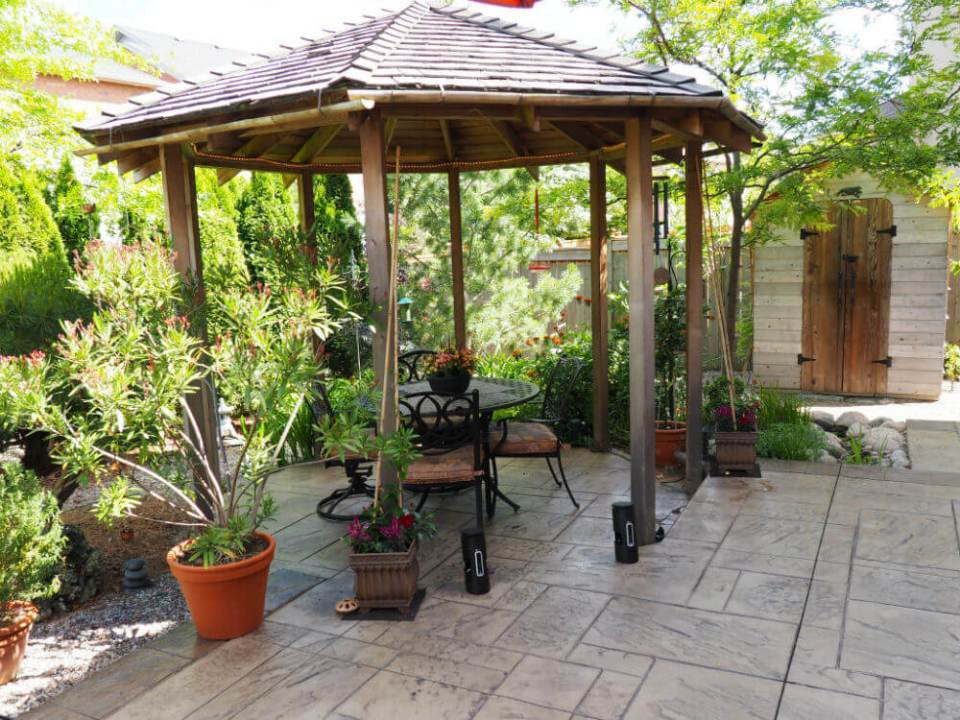 Gazebo Backyard Pavilion ideas