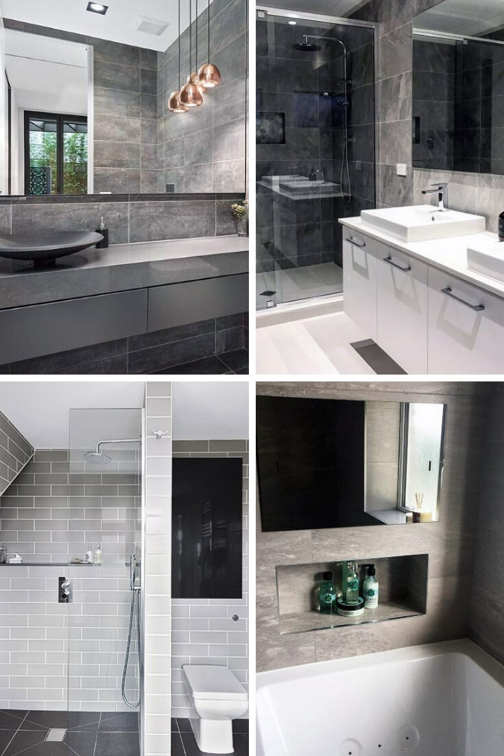 Grey Bathroom Tile Ideas 7 | Bathroom Tile Design: Ideas for Incorporating Tile into the Bathroom Design