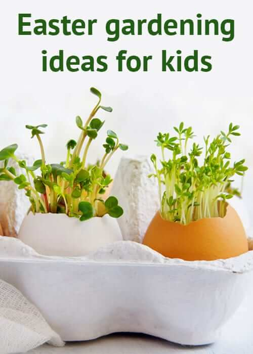 Easter Garden for kids | Creative Easter Garden Projects & Ideas Your Kids Will Love