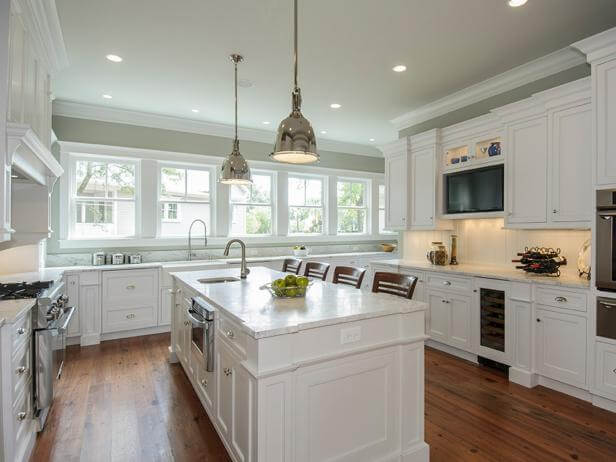 Painting Kitchen Cabinets | Best White Kitchen Cabinet Decor Ideas