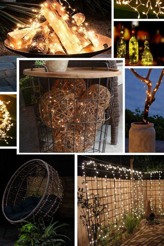 Backyard Lighting | Best Fairy Light Decoration Ideas