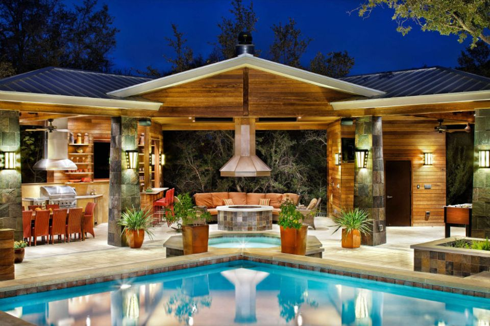 Backyard Pavilion ideas