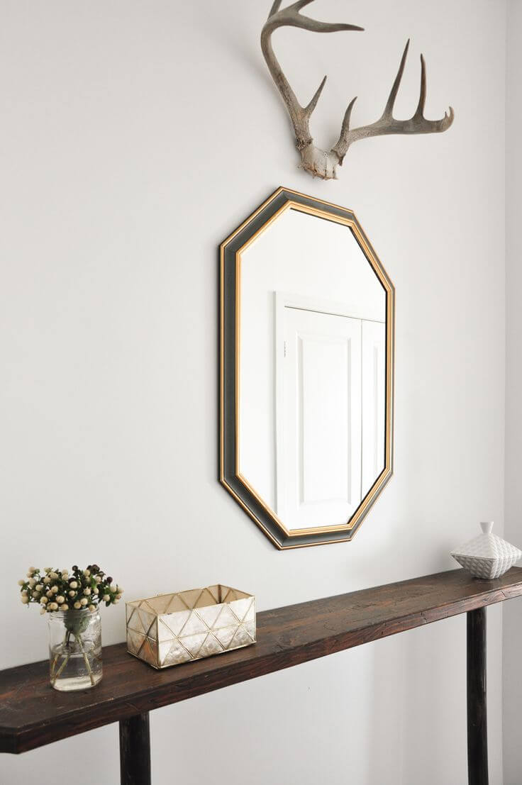 Best Entryway Mirror Decor Ideas 12