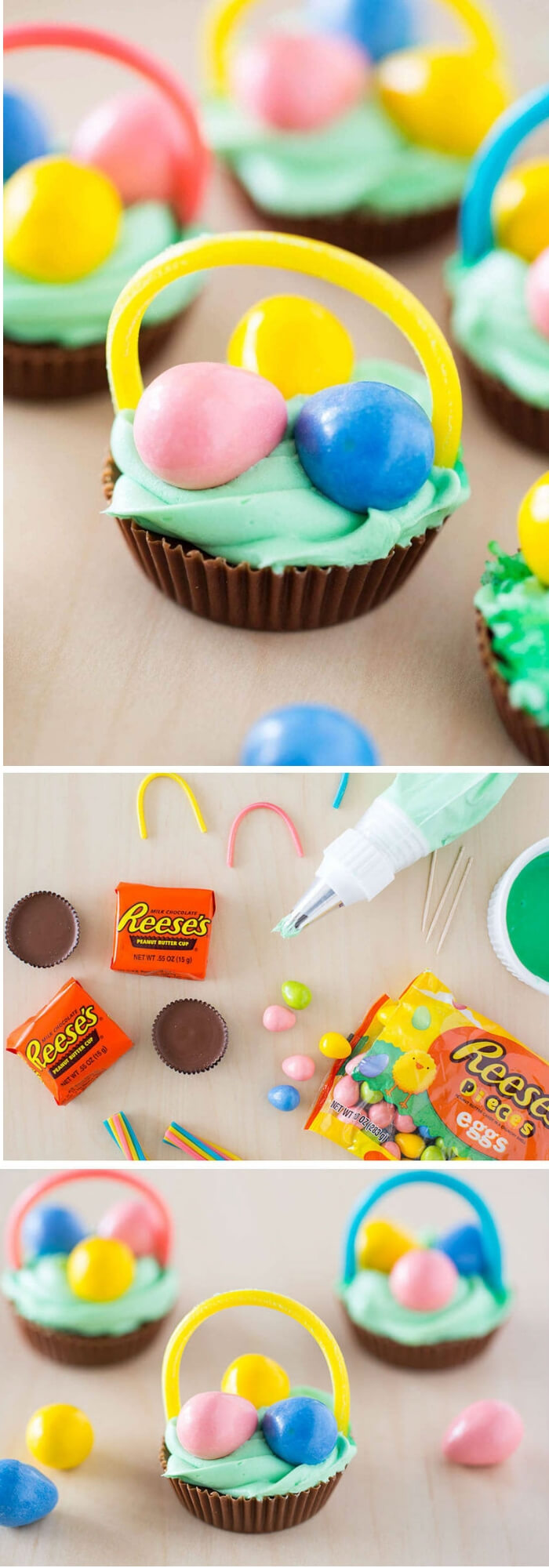 Mini Chocolate Easter Baskets | Fun & Creative Easter Basket Ideas