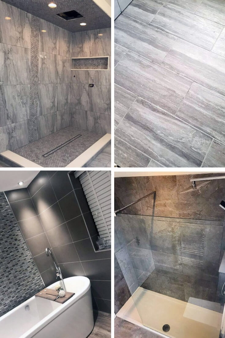 Grey Bathroom Tile Ideas 6 | Bathroom Tile Design: Ideas for Incorporating Tile into the Bathroom Design