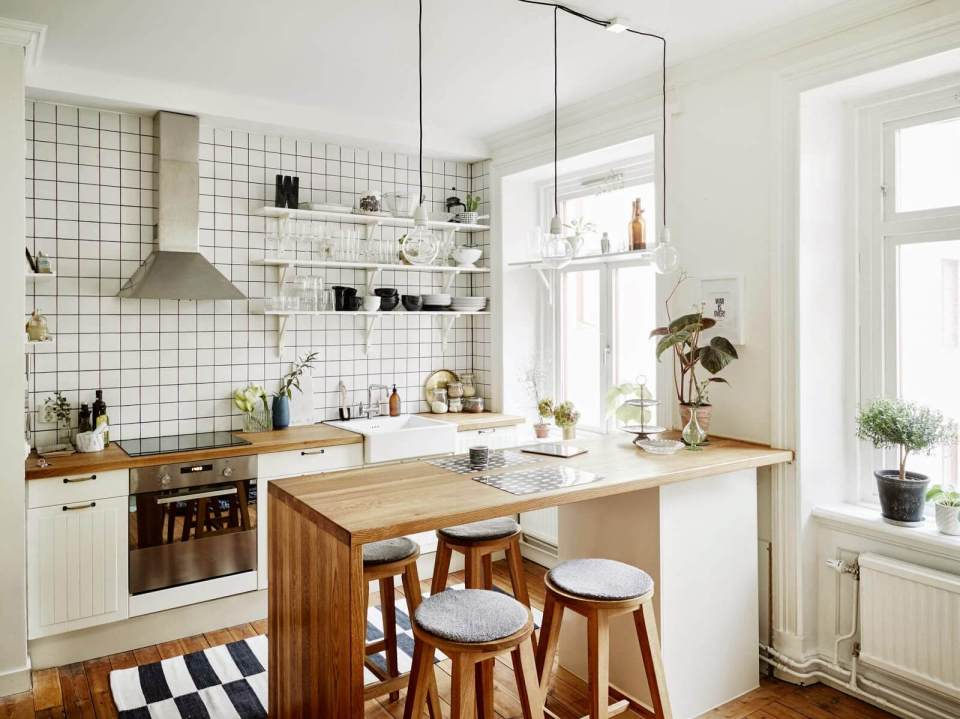 Nordic kitchen | Best White Kitchen Cabinet Decor Ideas
