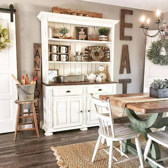 Best Farmhouse Living Room Decor & Design Ideas 6