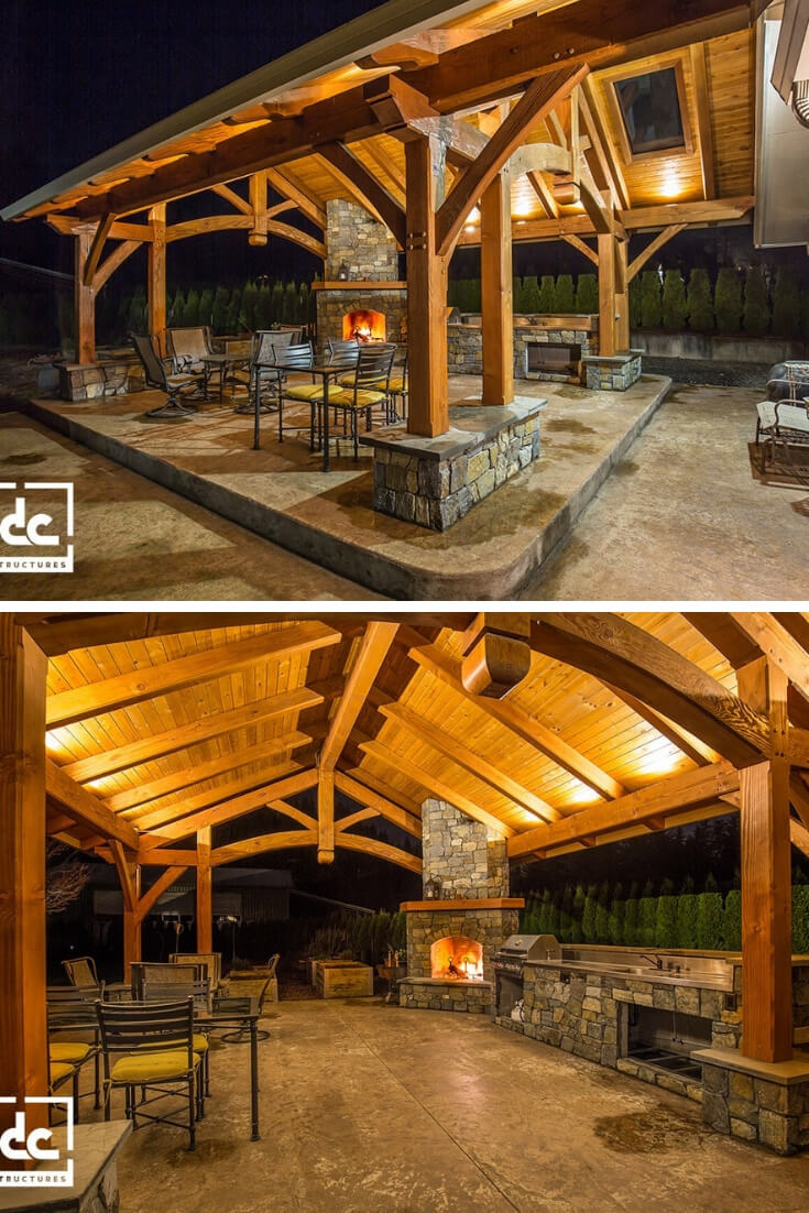 Timber Backyard Pavilion ideas
