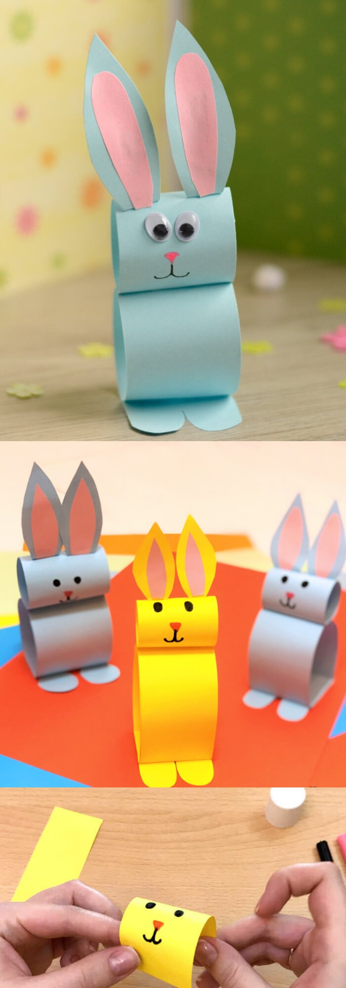 Paper Bunny Craft | Easy & Fun Easter Crafts For Kids