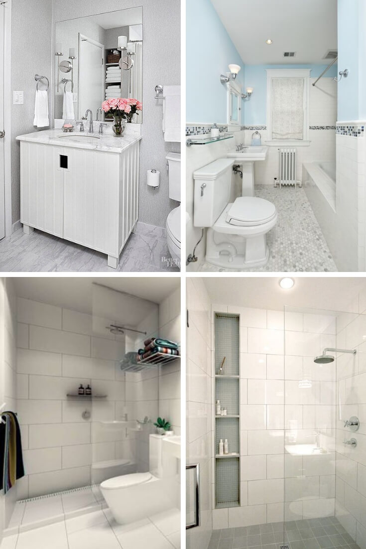 White Bathroom Tile Ideas 2 | Bathroom Tile Design: Ideas for Incorporating Tile into the Bathroom Design
