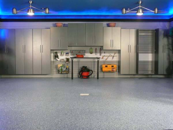 Blue neon led | Best Garage Lighting Designs & Ideas