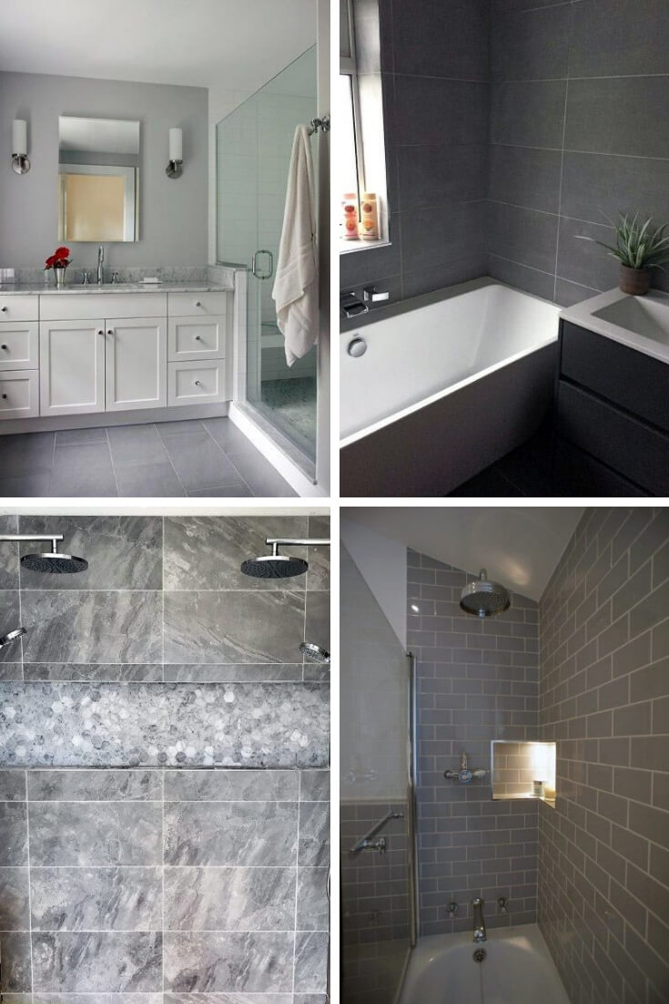 Grey Bathroom Tile Ideas 3 | Bathroom Tile Design: Ideas for Incorporating Tile into the Bathroom Design