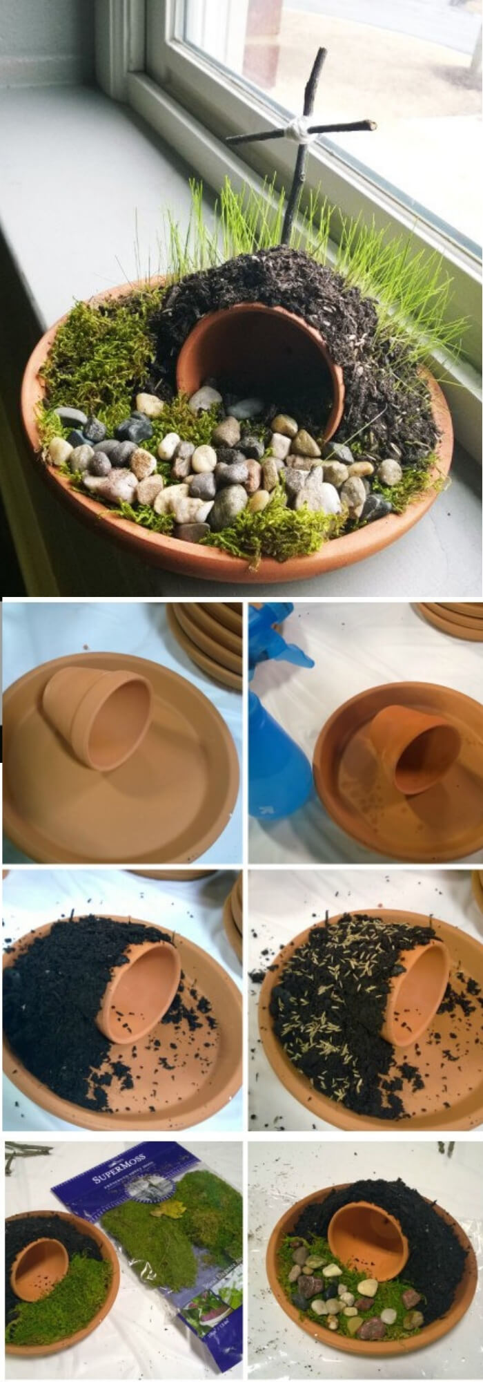 Resurrection garden for your kids | Creative Easter Garden Projects & Ideas Your Kids Will Love