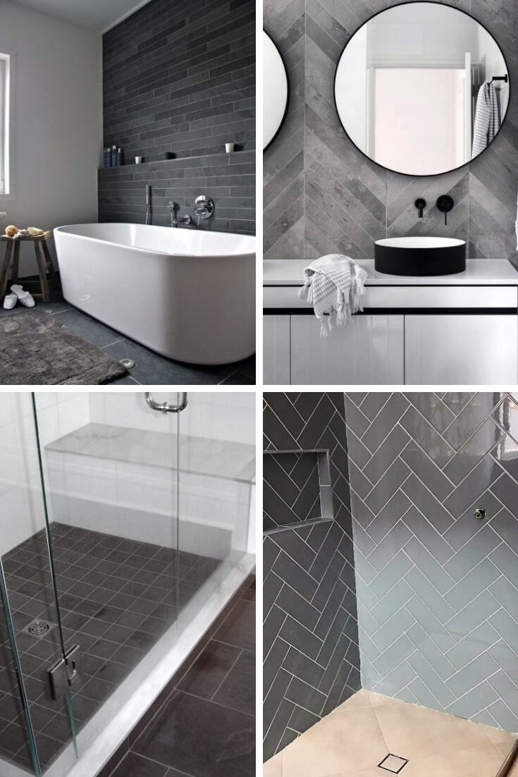 Grey Bathroom Tile Ideas 1 | Bathroom Tile Design: Ideas for Incorporating Tile into the Bathroom Design