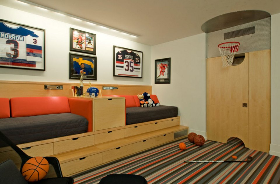 Basket Ball | Cool Bedroom Ideas For Boys
