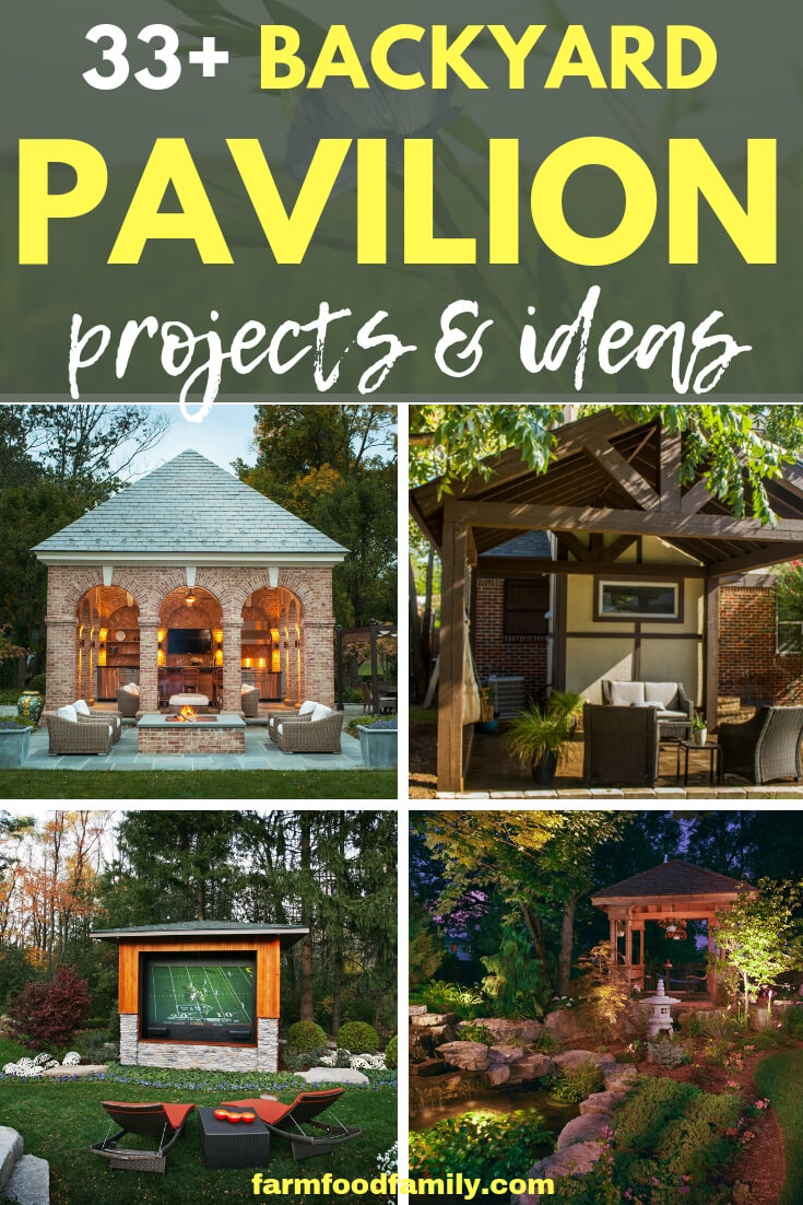 Best Backyard Landscape Pavilion ideas for your home