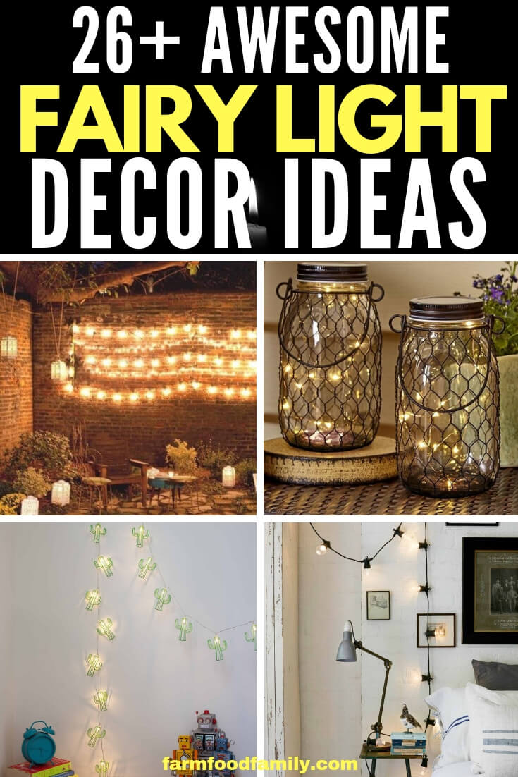 Best Fairy Light Decoration & Design Ideas