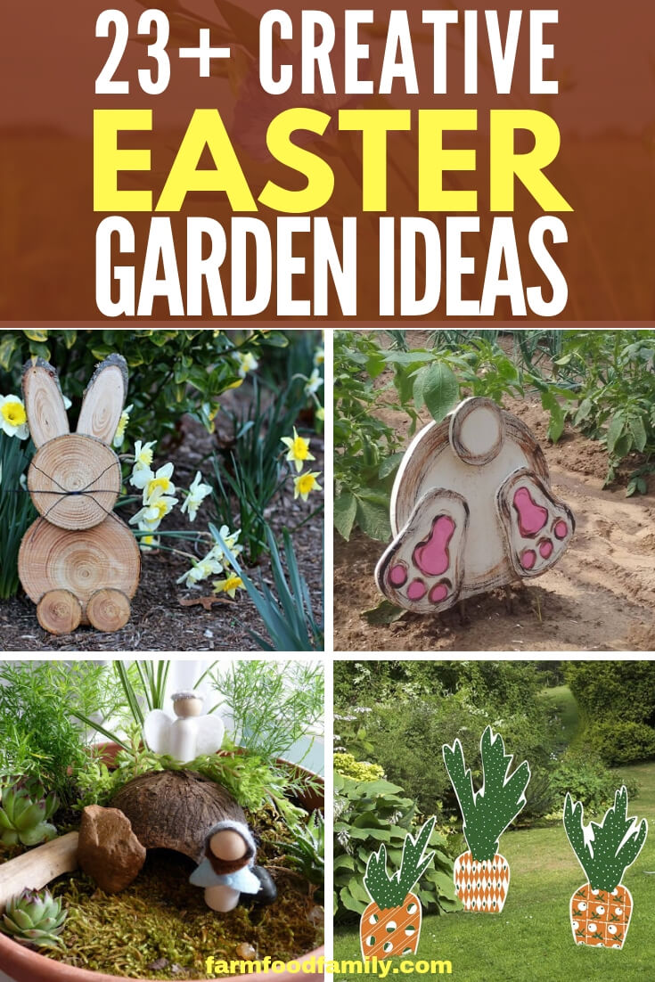 Creative Easter Garden Projects & Ideas Your Kids Will Love