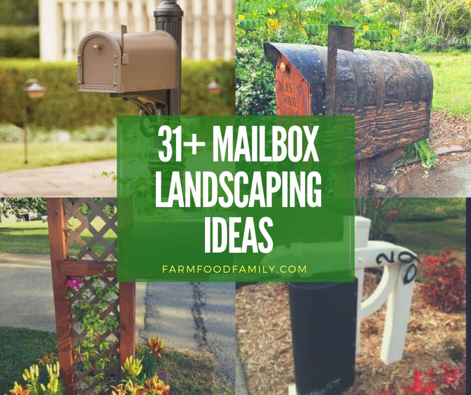 45 Best Cottage Style Garden Ideas And Designs For 2019: 35+ Best Mailbox Landscaping Ideas For 2019
