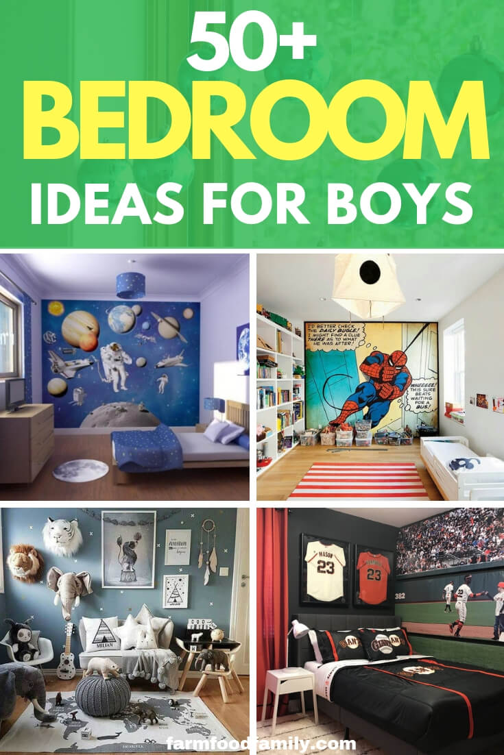 Boy's rooms can be really exciting and fun to decorate especially if you're going with a themed element. Use a theme to provide a pivot point for the room and take your inspiration from that theme. Whether your son is a newborn or a teen there are themes that can work for every age group.