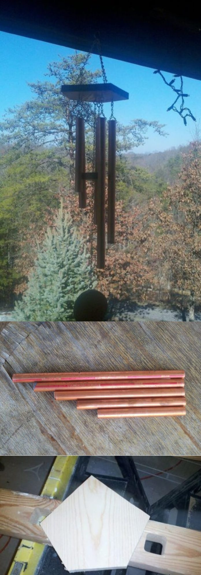 Copper Tubing Wind Chime