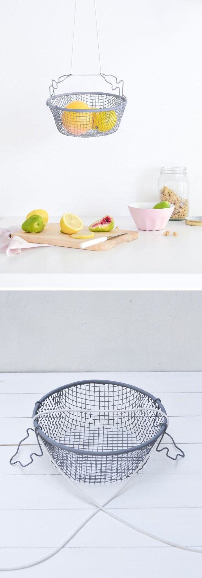 DIY Hanging Fruit Basket | Best Fruit and Vegetable Storage Ideas For Your Kitchen