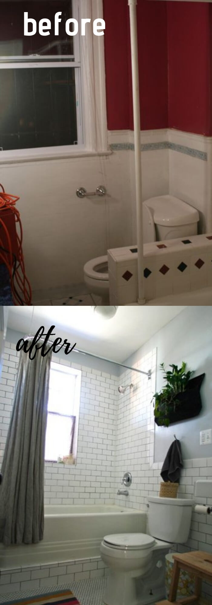 Vintage Bathroom Makeover