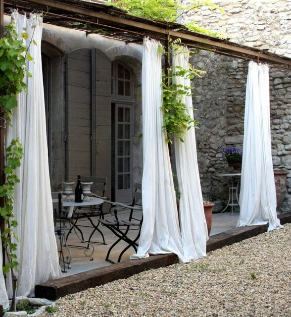 best outdoor curtain ideas