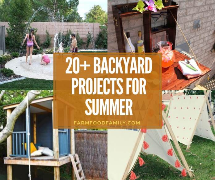 best backyard projects for summer