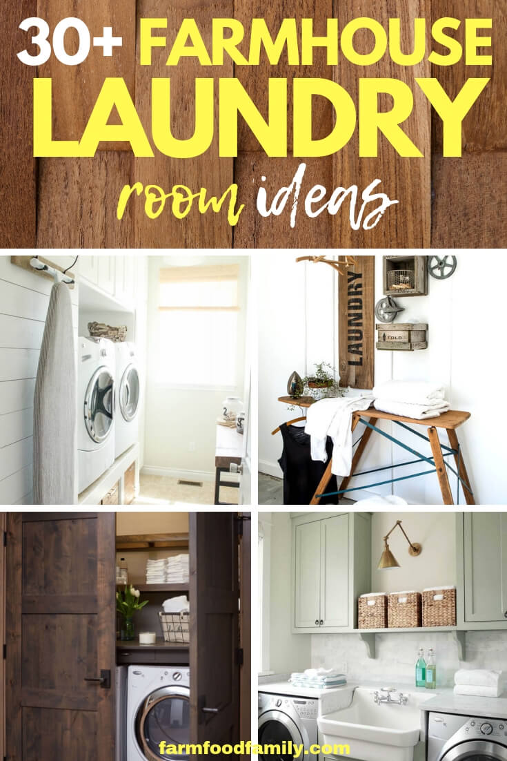 30+ best diy farmhouse laundry room ideas