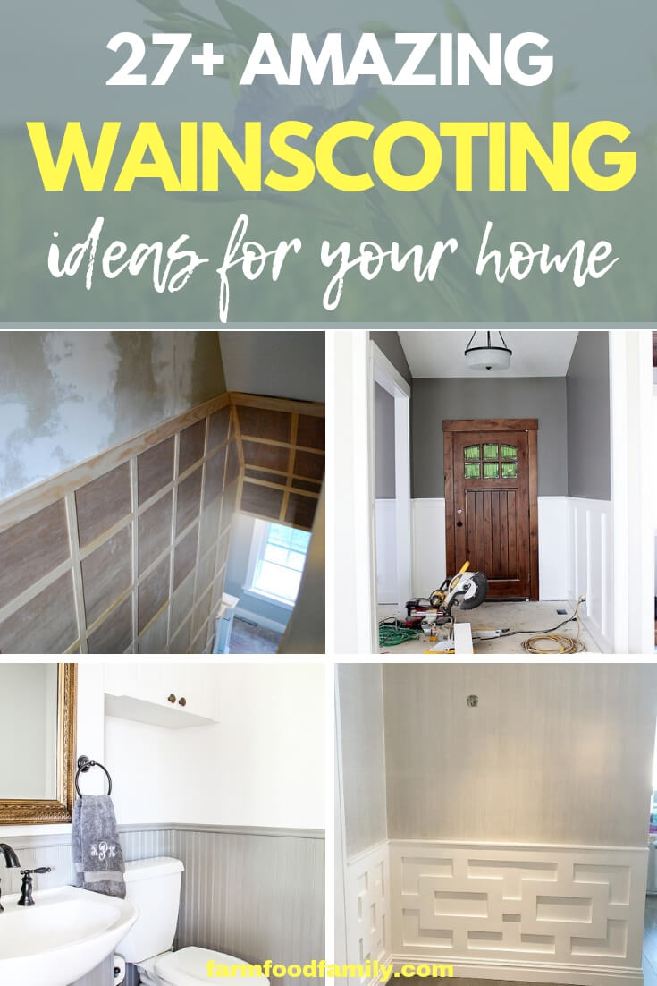 Best Wainscoting ideas & designs for your home