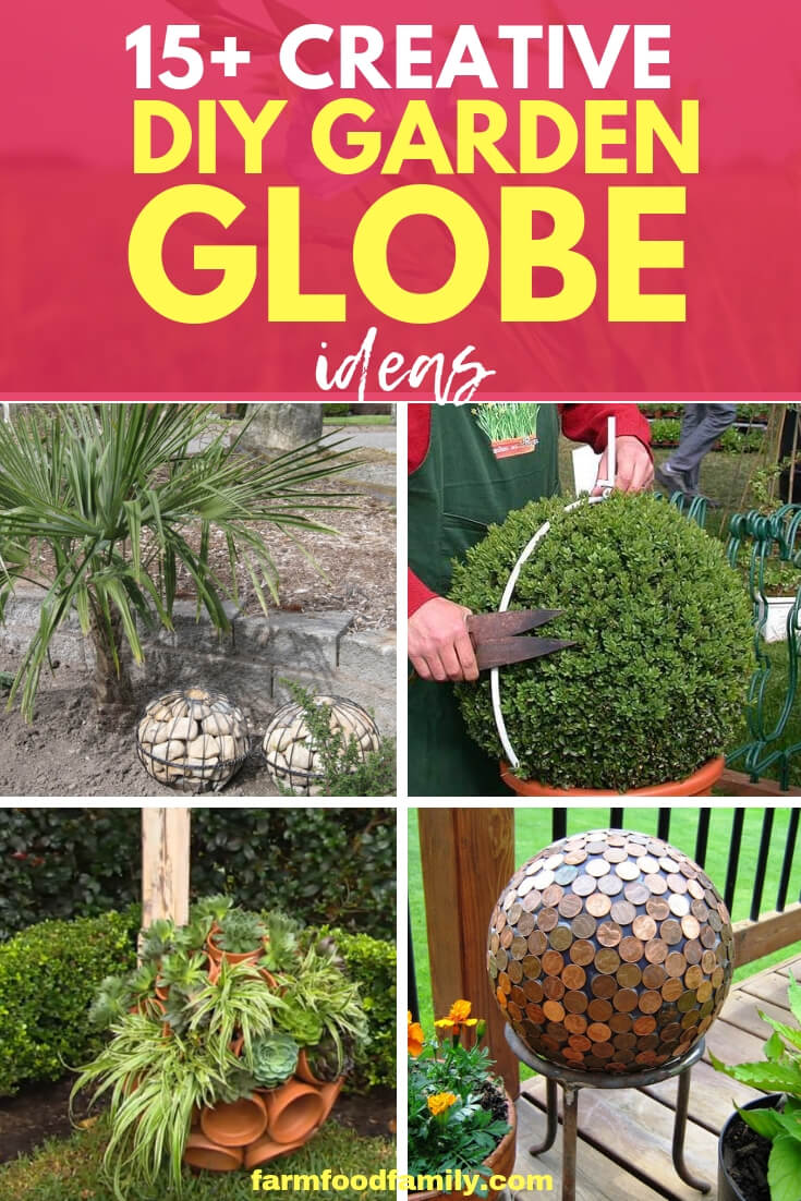 Creative DIY Garden Globe Ideas
