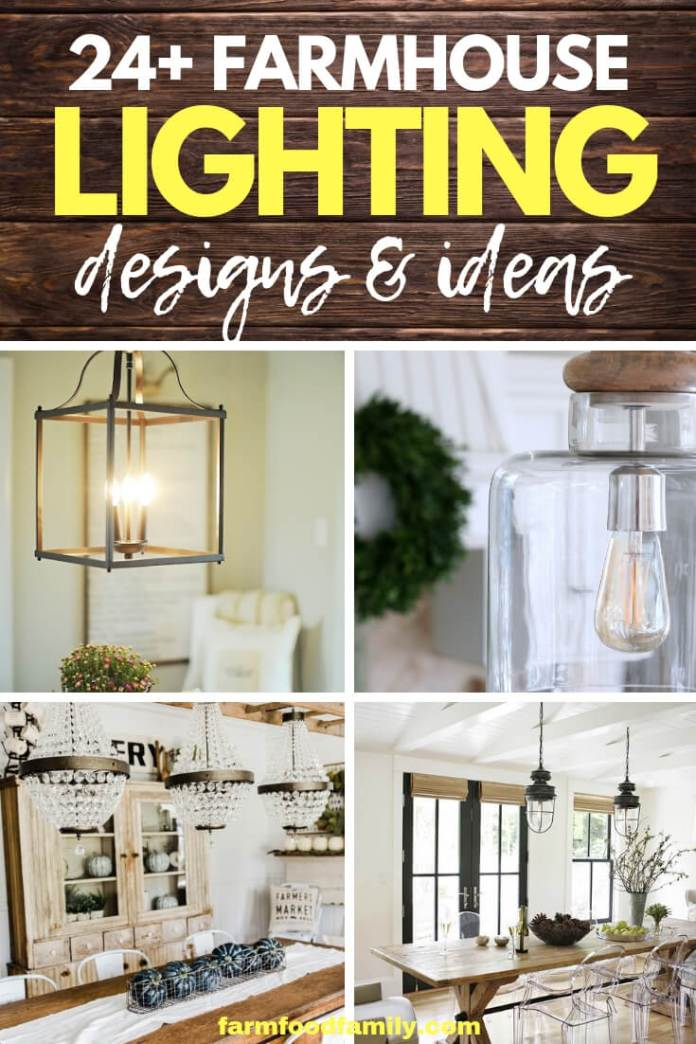 Best DIY Farmhouse Lighting Ideas