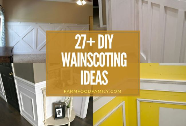 27+ Amazing Wainscoting Ideas for Your New...